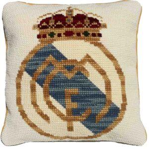 KIT COJIN CAÑAMAZO GRUESO ESCUDO REAL MADRID