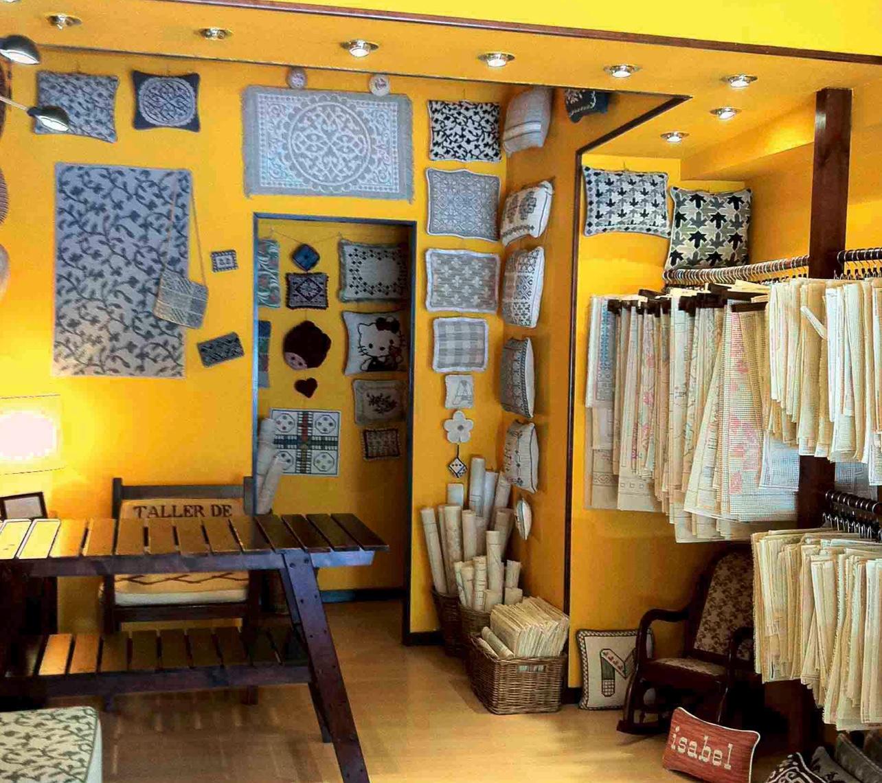 Foto de la antigua tienda de talleres cañamazo